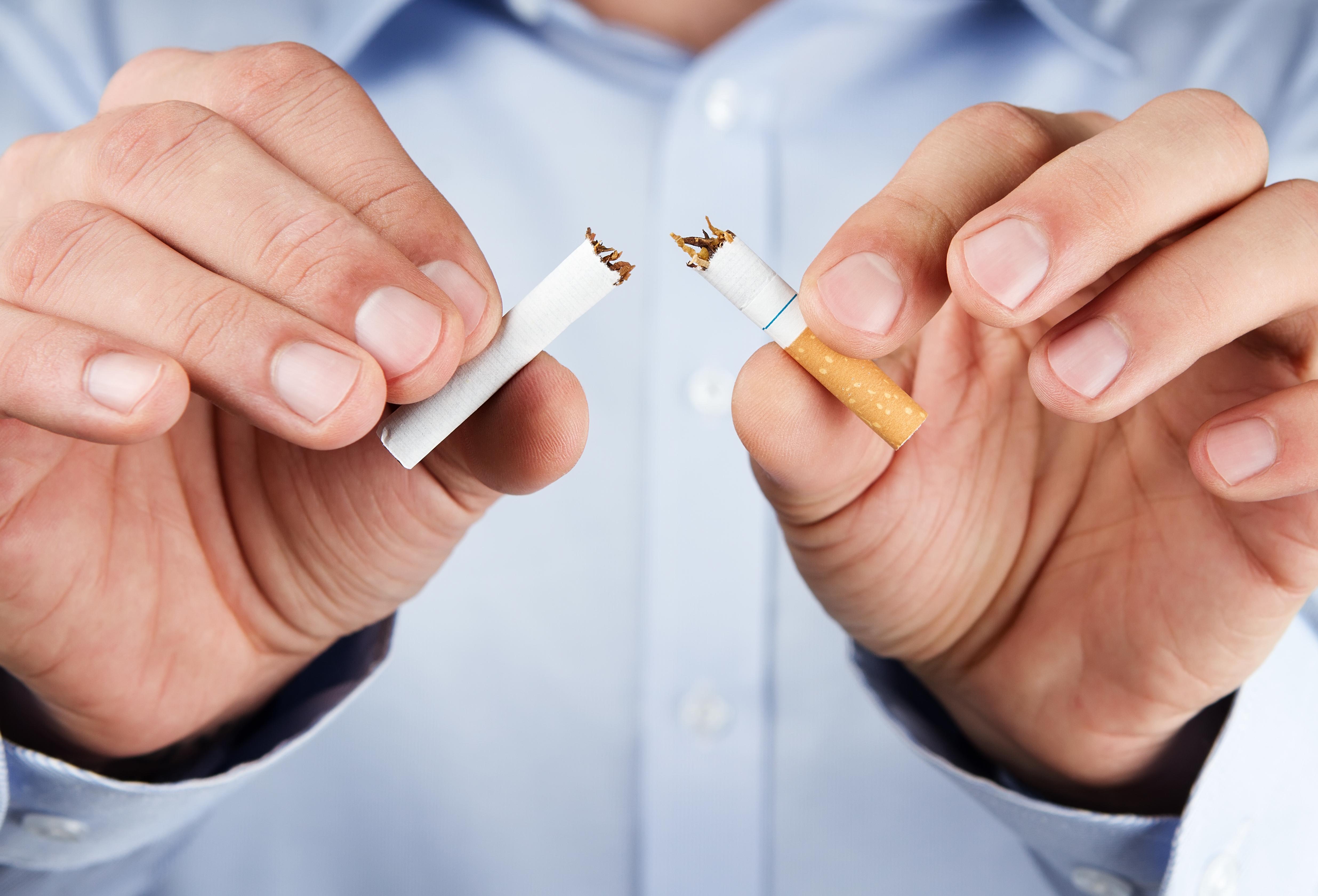 Ako prestať fajčiť a nepribrať